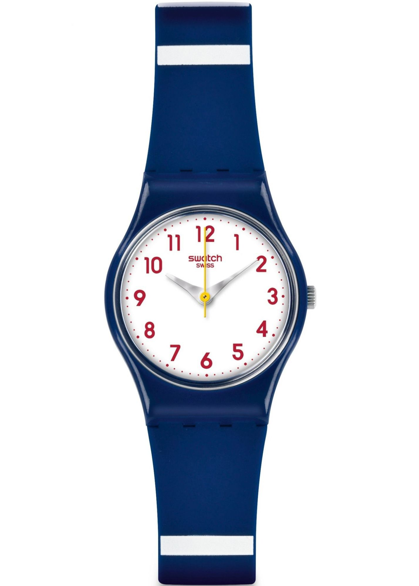 SWATCH MATELOT TWO TONE STRAP LADIES WATCH LN149 £32.00  Breeze into a more colour-led summer with the fashion-worthy MATELOT, a super chic styling combo of colour you'll be wearing with everything. #swatch #watcheseastgrinstead