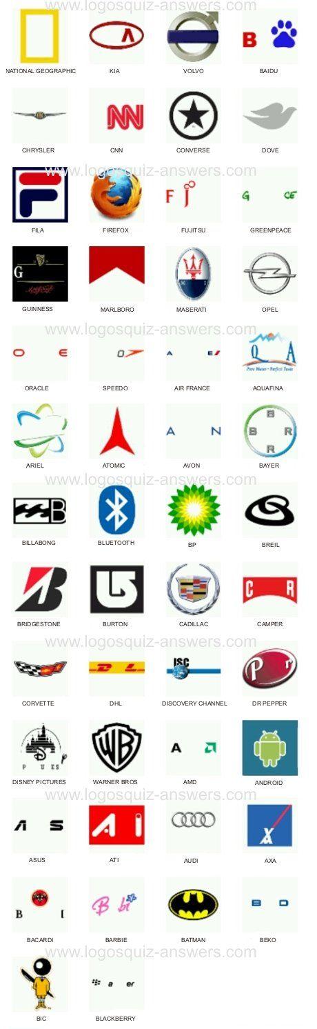 13 Logo Quiz Answers Ideas Logo Quiz Logo Quiz Answers Quiz