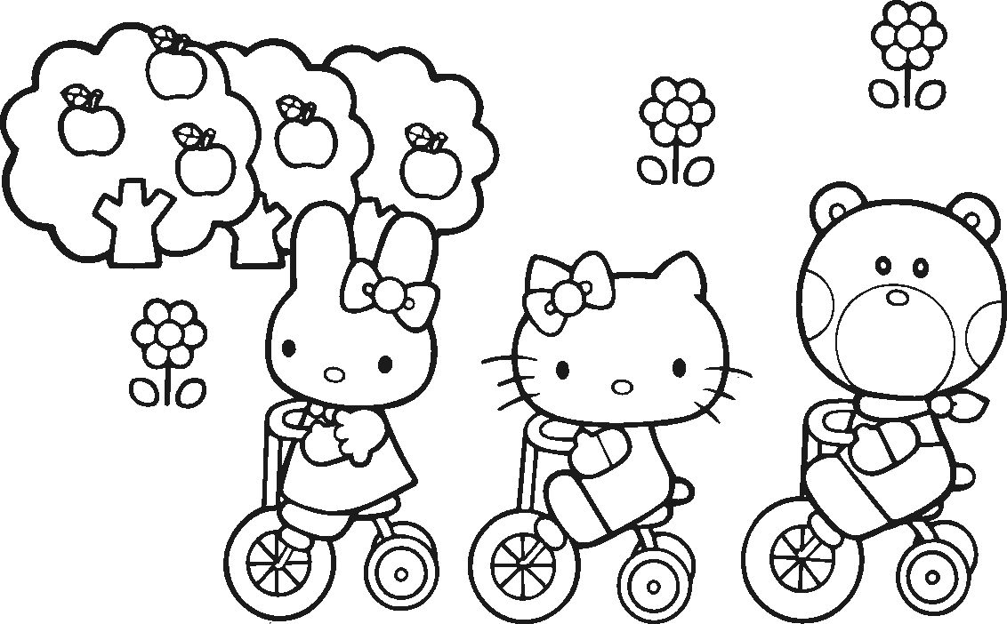 Hello Kitty Butterfly Coloring Pages Download Hello Kitty Coloring Hello Kitty Colouring Pages Kitty Coloring