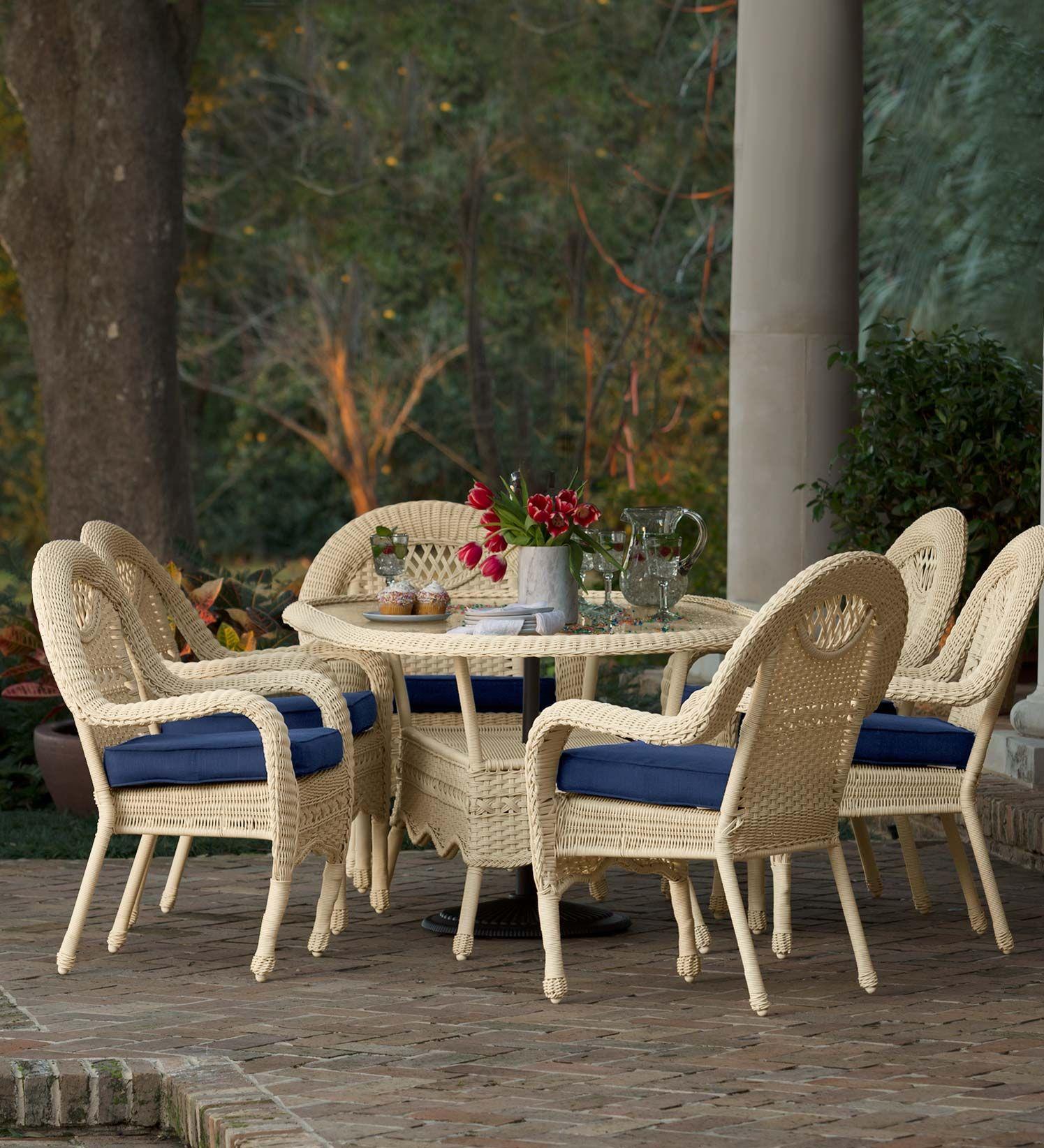 28+ White wicker outdoor dining set ideas in 2021