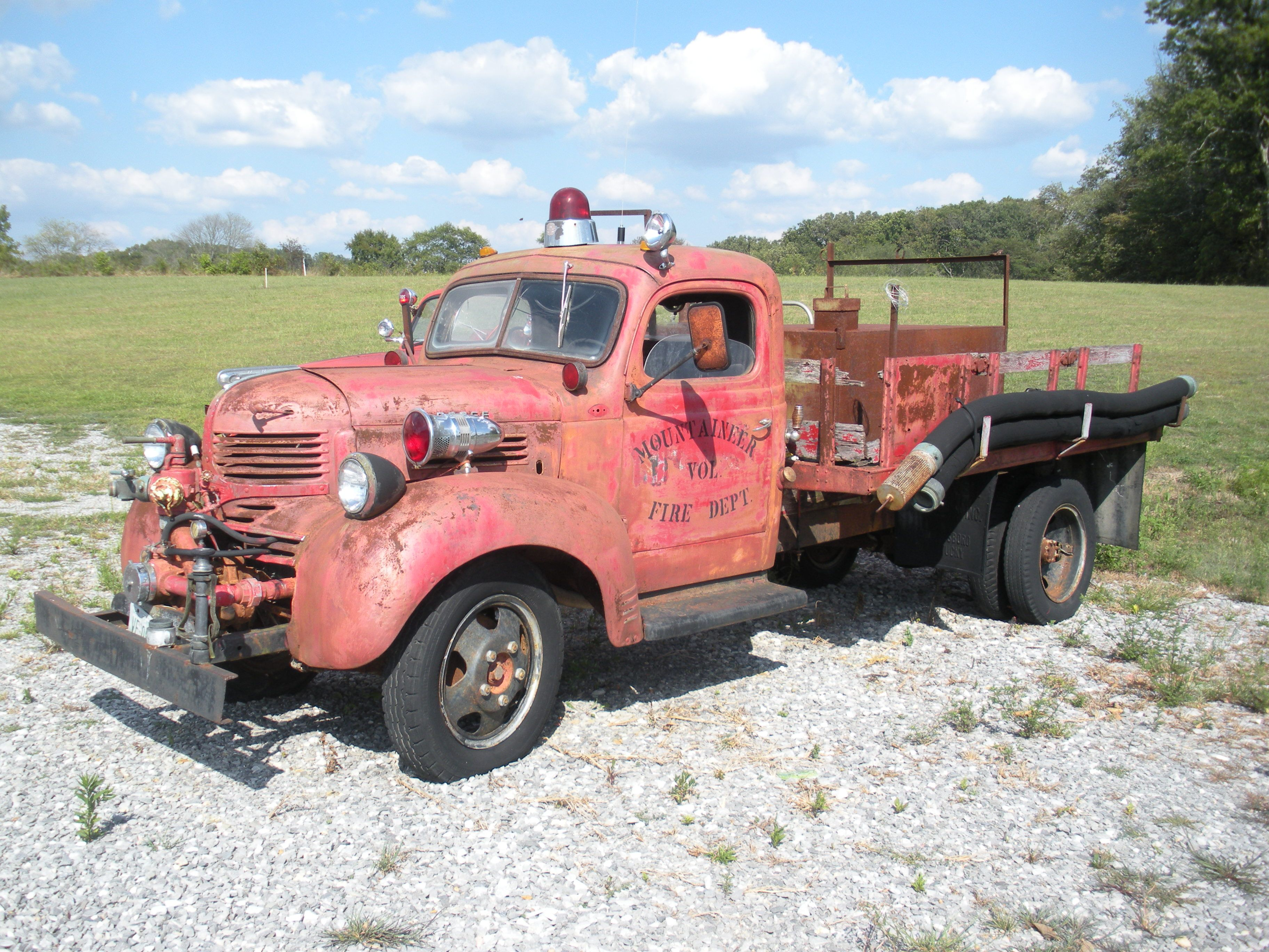 Obliviously a home built fire truck by a rural volunteer fire obliviously a home built fire truck by a rural volunteer fire department possibly a late 40s dodge publicscrutiny Images