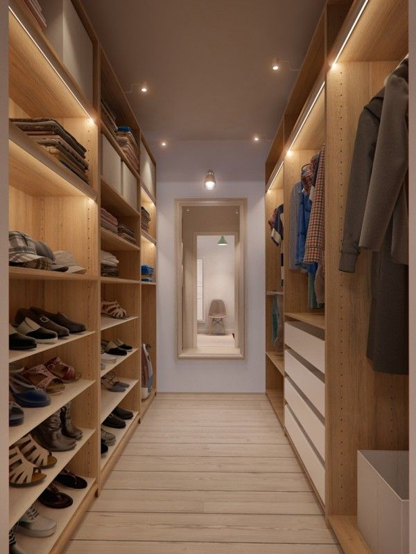 Scandinavian Minimalism Meets Mid Century Interior Walk In Closet Design Apartment Design Closet Bedroom