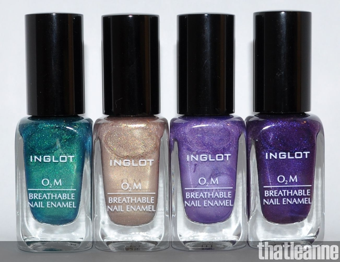 O2M breathable nail polish by Inglot. Allows water and air to reach ...