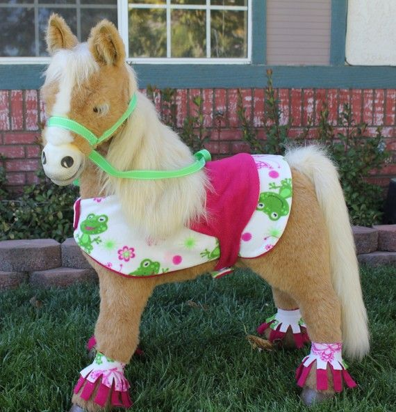 Butterscotch Smores Pony Blanket Saddle Harness By