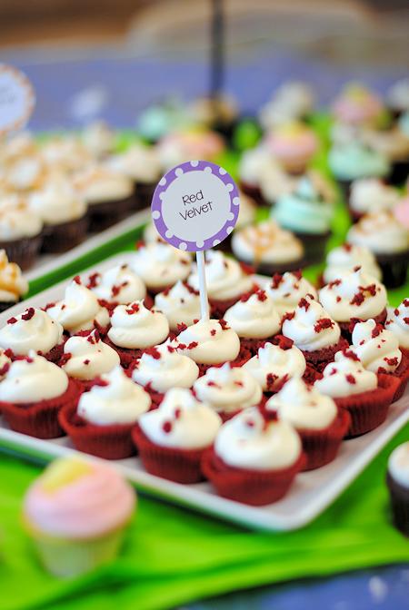 Mini Cupcake Bar