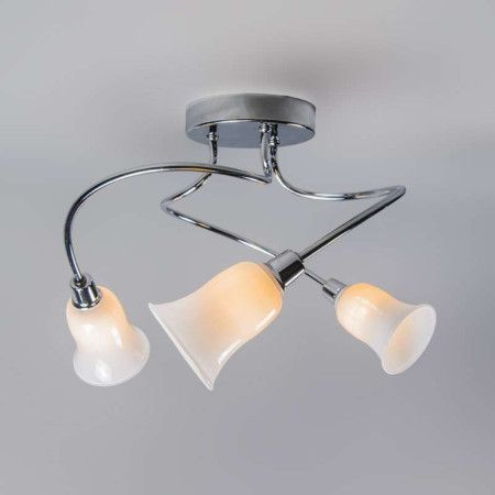 Badezimmer Deckenleuchte Sphinx 3 chrom #Deckenlampe #Lampe - deckenleuchten für badezimmer