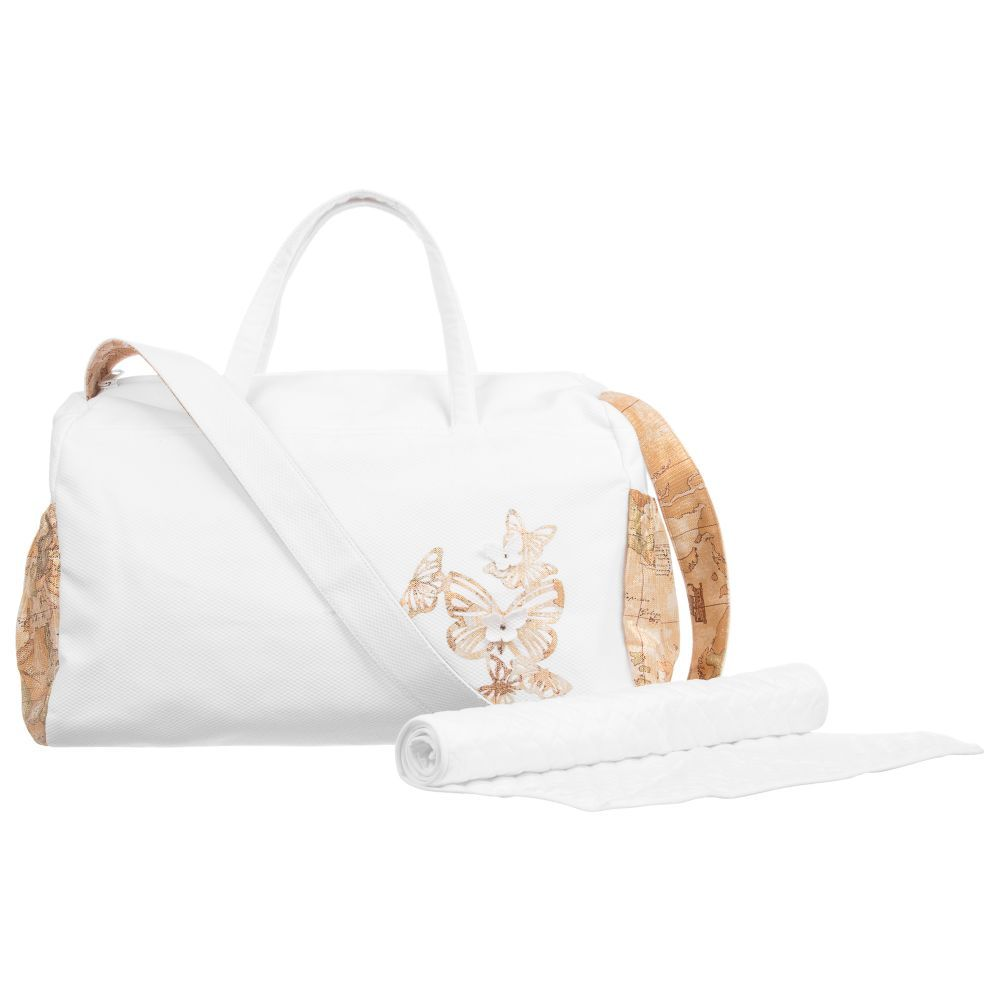 5ea9d948e0b1 Baby Changing Bag (45cm) for Girl by Alviero Martini. Discover more  beautiful designer Bags for kids