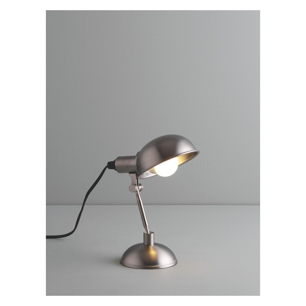 Tommy silver brushed metal desk lamp buy now at habitat uk tommy silver brushed metal desk lamp buy now at habitat uk mozeypictures Choice Image
