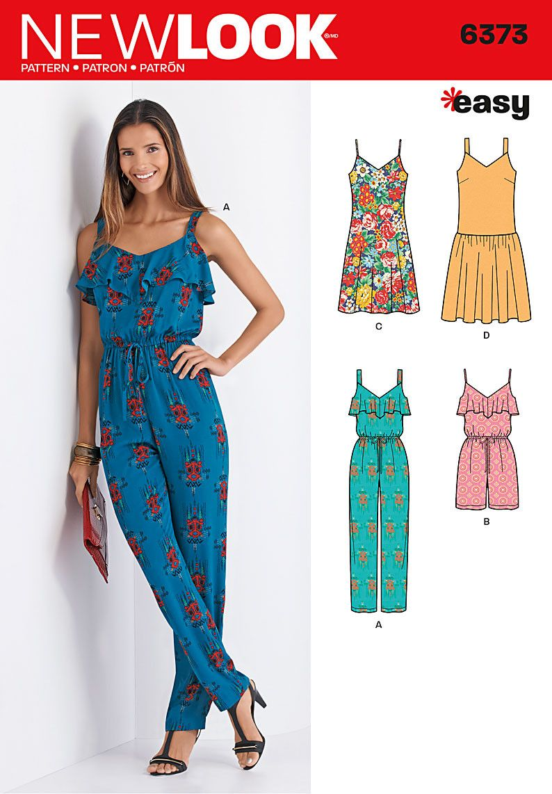New look pattern nl6373 jumpsuit and dresses jaycotts new look pattern nl6373 jumpsuit and dresses jaycotts sewing jeuxipadfo Choice Image