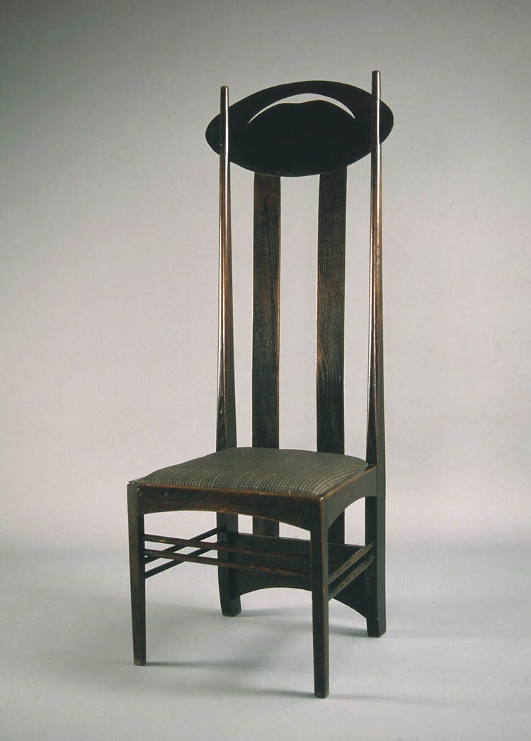 High Backed Chair For The Luncheon Room 39 Miss Cranston 39 S 39 Tea Rooms Argyle Street Glasgow