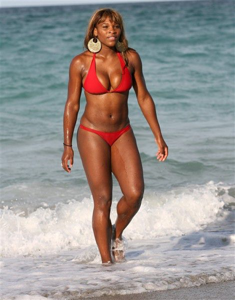 Have Serena venus williams bikini