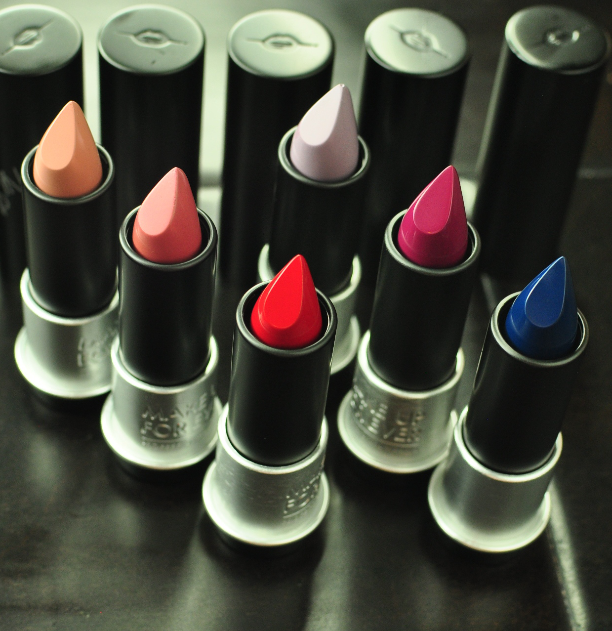 Make Up For Ever Artist Rouge Lipstick Review and Swatches