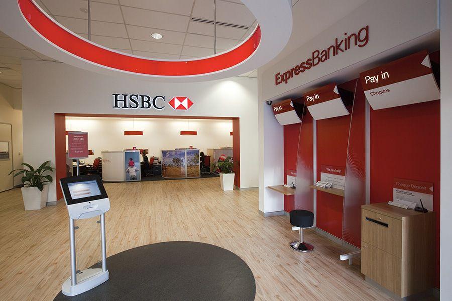 Hsbc Retail Bankingaustralia Wide Bank Interior Design Retail Banking Bank Design