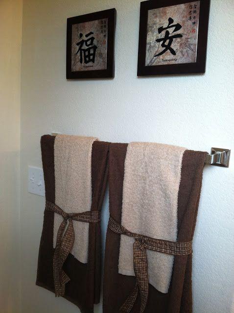 Decorative Towels For A Mocha Themed Bathroom Decor Decorative Towels Home Decor