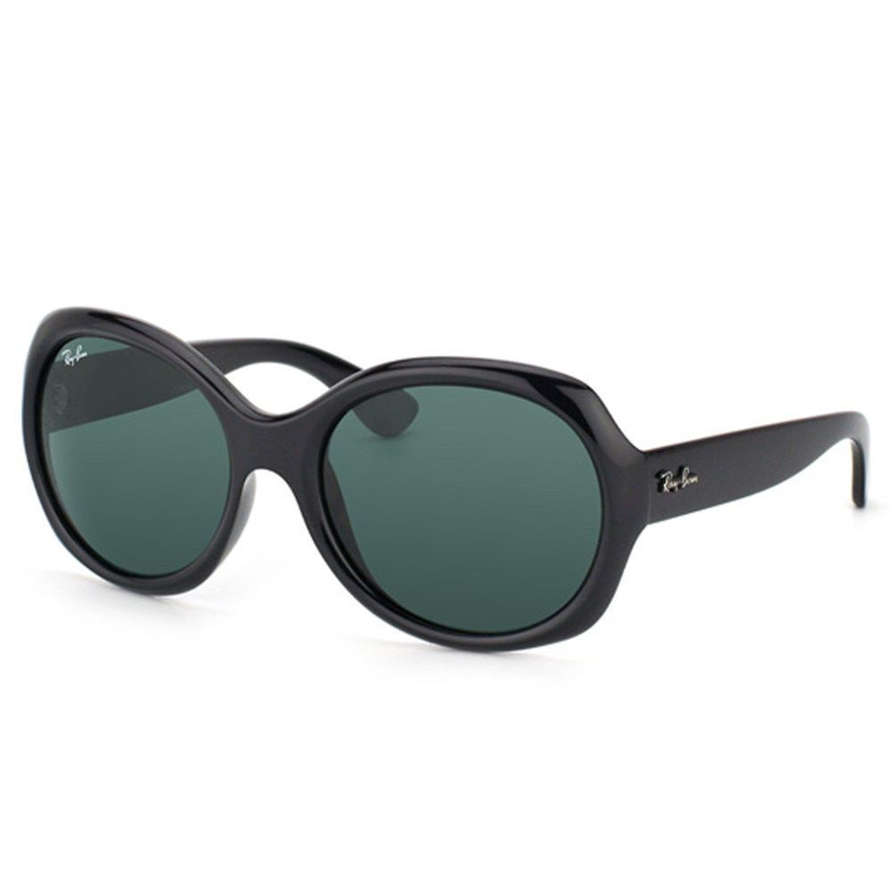 a392469bf9 Ray-Ban RB4191 601 71 Black Frame Green Classic 57mm Lens Sunglasses ...