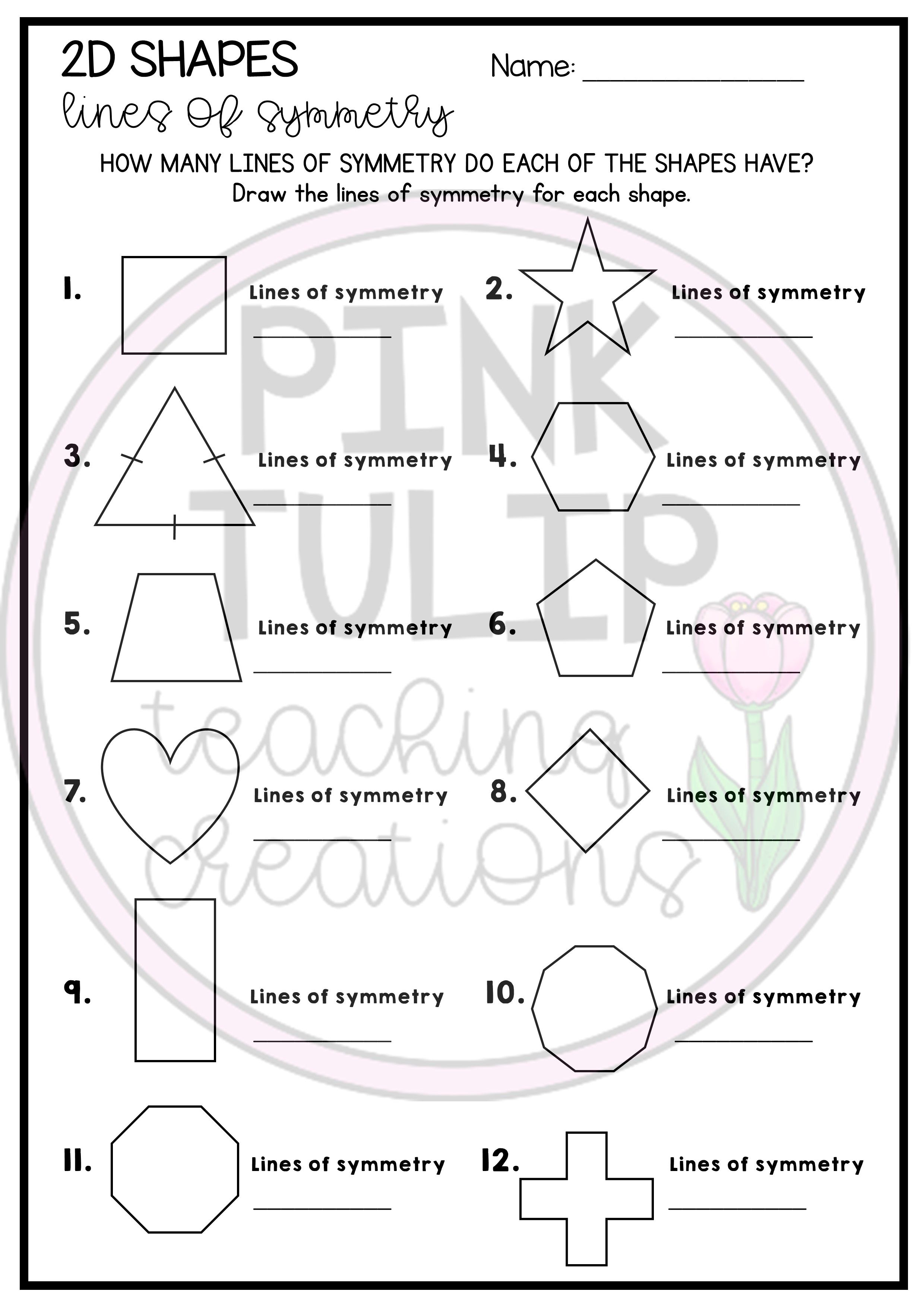 2d Shapes Lines And Patterns