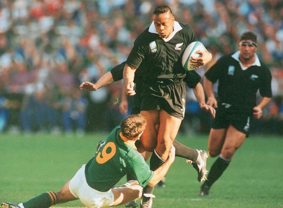 That Tackle Rwc 1995 Final Jonah Lomu Springbok Rugby Rugby Union