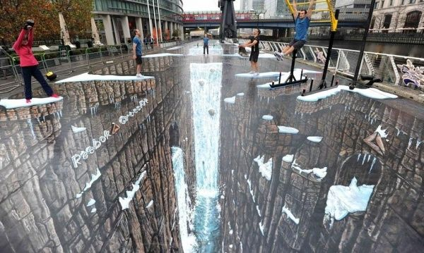 This Sidewalk Art Will Blow Your Mind