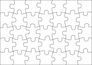 graphic relating to Printable Blank Puzzle referred to as Printable blank puzzle Bulletin board Artwork clroom, Artwork