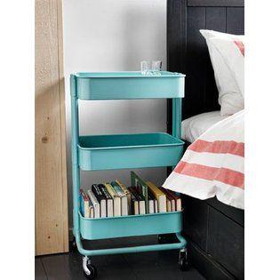 Ikea Raskog Kitchen Cart Turquoise