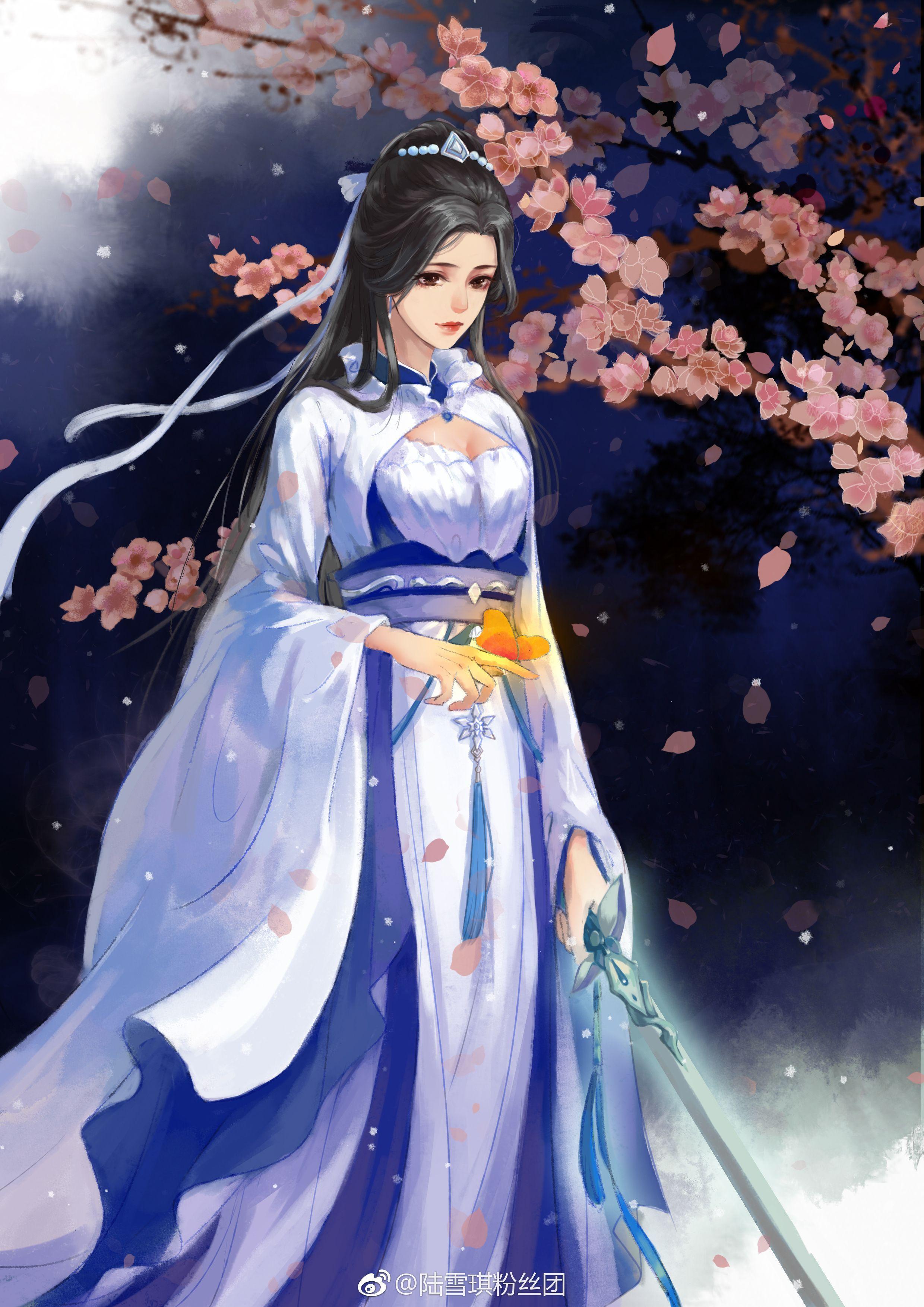 Японские аниме платья картинки