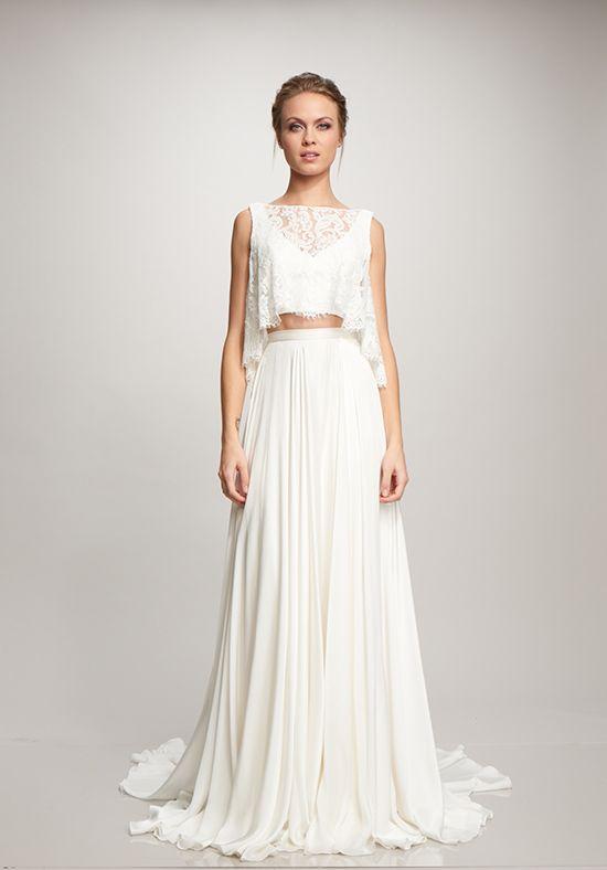 8f4771710dd THEIA Poppy Top + Marlena Skirt A-Line Wedding Dress   dresses ...
