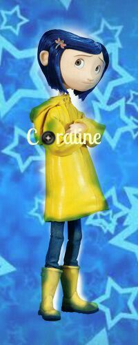 Girl Yellow Raincoat Blue Hair Exploring Tunneling Wondering Looks