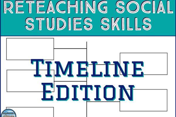 Photo of Reinforcing Social Studies Skills–Timelines