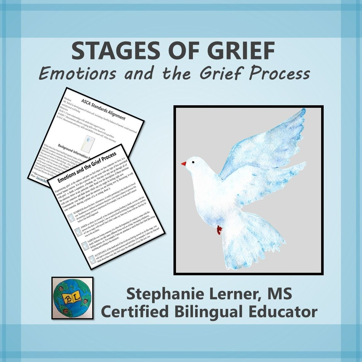This Stages Of Grief Activity From Cope Into Hope Grief