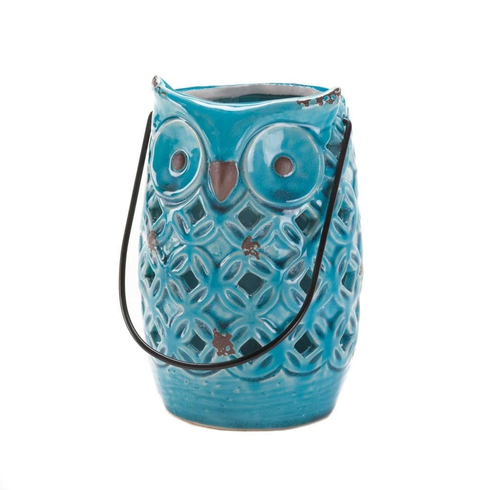 Blue owl lantern owl lantern outlet store and products