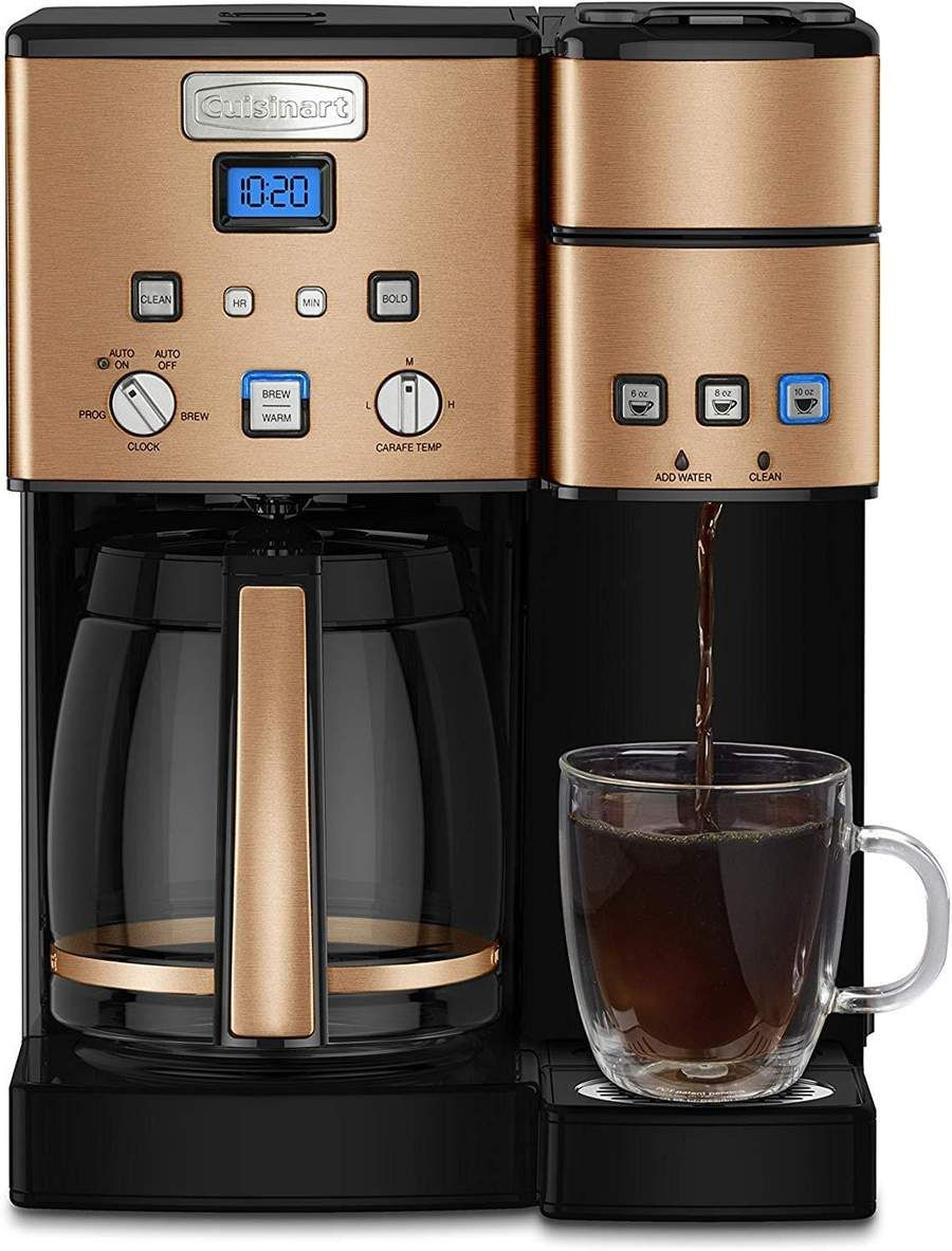 High Performance 12 Cup Coffeemaker In 2020 Stainless Steel Coffee Maker Single Coffee Maker Coffee Center