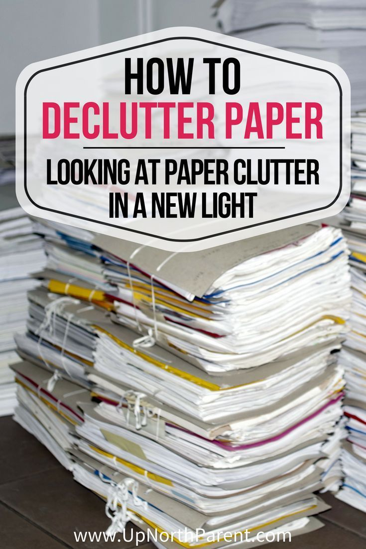 Looking at Paper Clutter in a New Light is part of Organization Work Paper Clutter - We're looking at paper clutter in a new light, learning how to declutter paper by deciding what you actually need to keep, and what you can recycle  You need to keep less than you think!