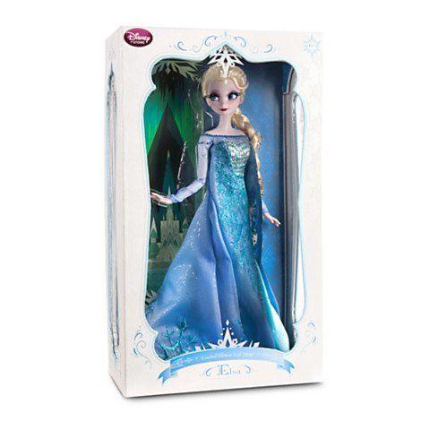 Amazon.com : Elsa Limited Edition 17'' Collectors Designer Doll Frozen : Disney Frozen Doll : Toys & Games
