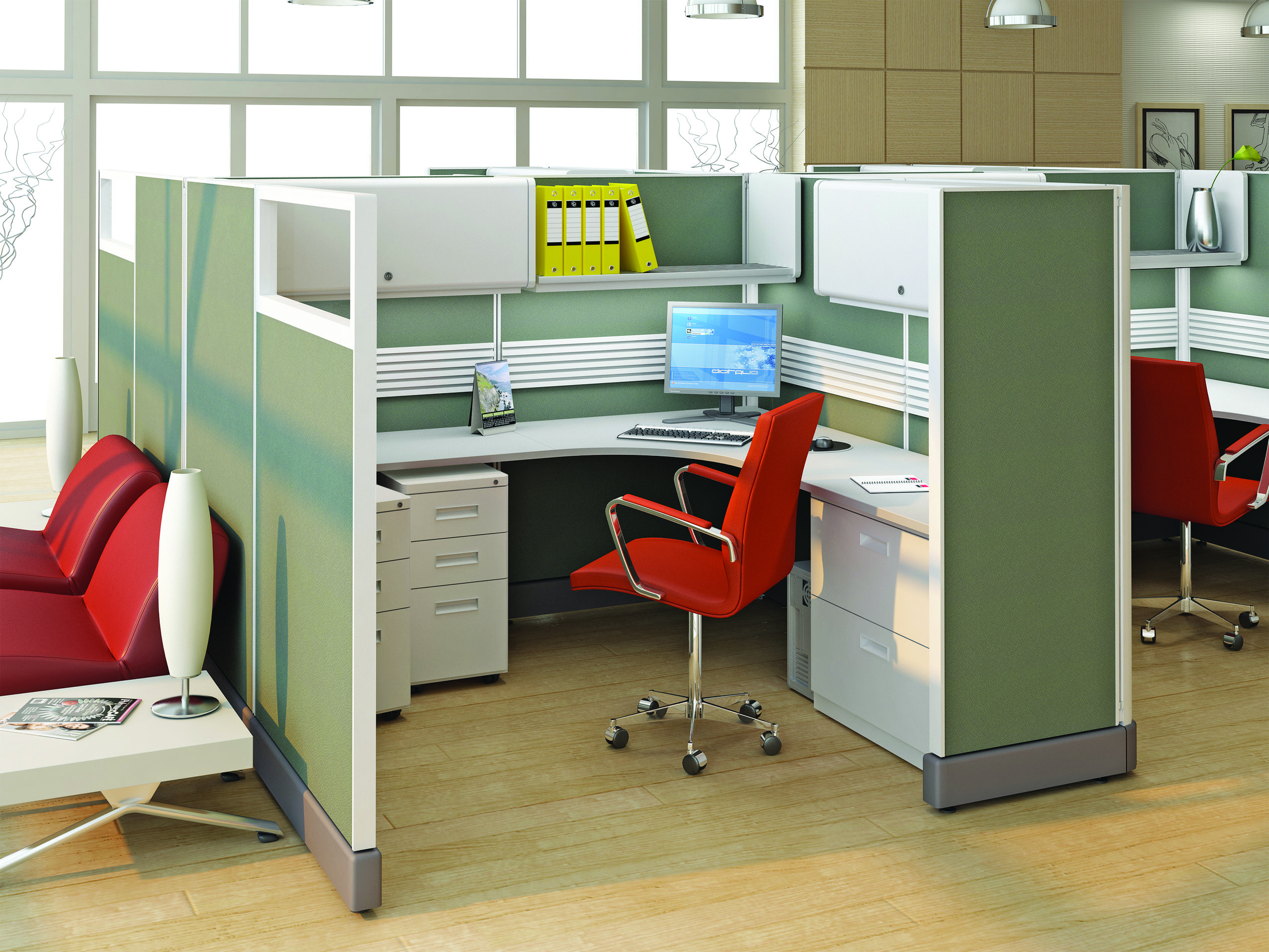 System 2 Value Priced Office Panel System Cubicles And Systems