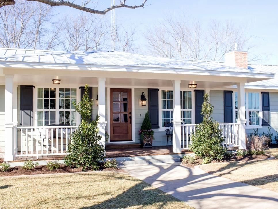 Image Result For Ranch House Front Porch Remodel Ranch House Remodel Porch Remodel Ranch Style Homes
