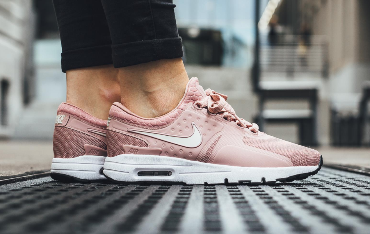 33699687e85 Now Available  Nike Air Max Zero Particle Pink