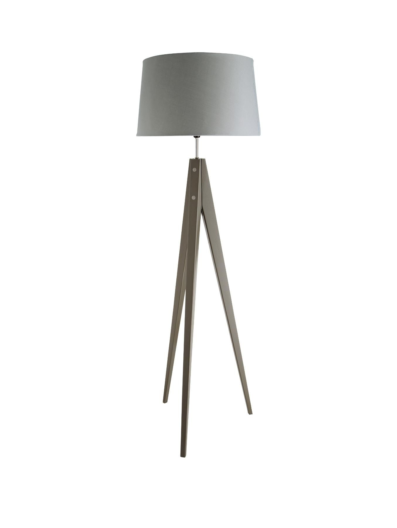 Thea Tripod Floor Lamp | Tripod, Floor lamp and Drum shade