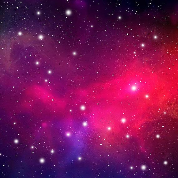 Red cosmic background. Instant download outer space pictures. Galaxy paper. Galaxy background digital paper. Nebula background. Outer space