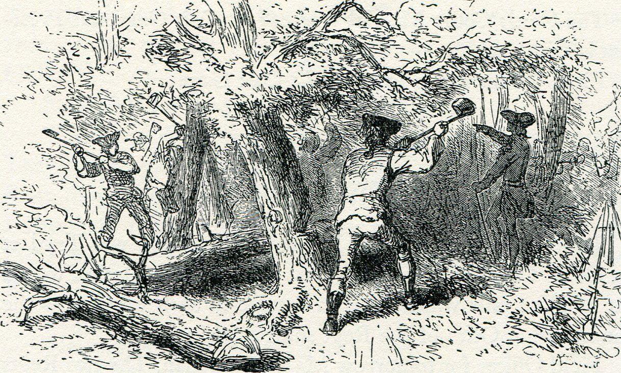 General Braddock's Defeat on the Monongahela Part 8 | Monongahela, Braddock,  Local history