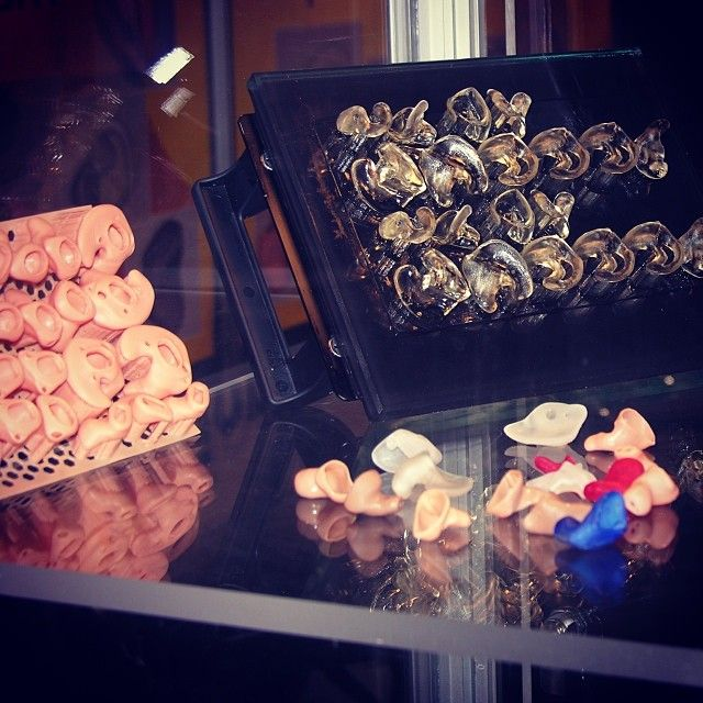 Improving quality of life with an assortment of #custom #hearingaid shells and devices.