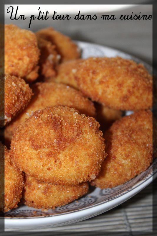 P'tites croquetas brebis et jambon de Bayonne - Un p'tit tour dans ma cuisine #recettesympa