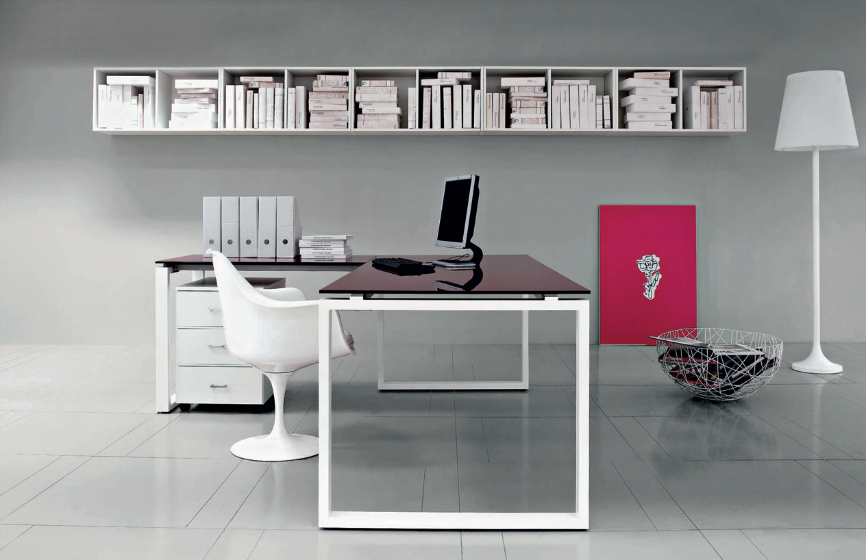Bureau design vista en verre workspace by superstore