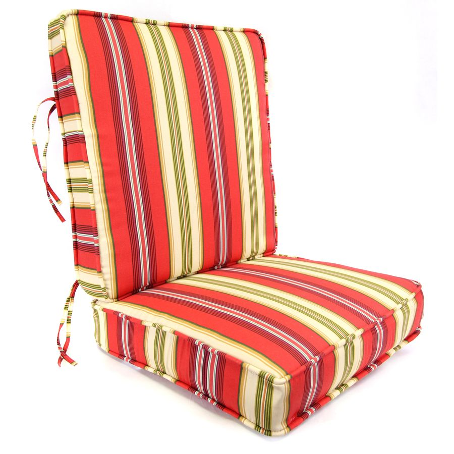 Shop Lipstick Deep Seat Patio Chair Cushion at Lowes.com