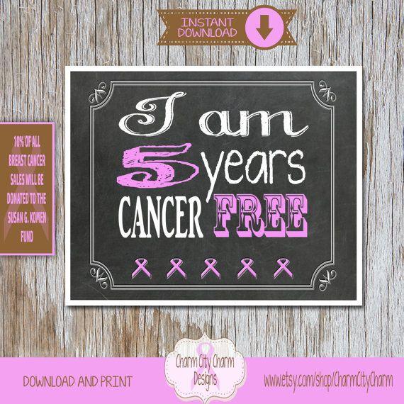Breast Cancer Survivor Sign, Breast Cancer Chalkboard Sign