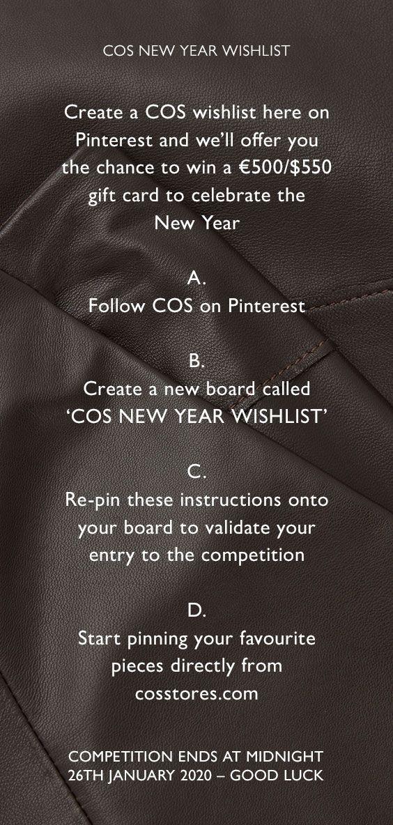 Photo of COS | New Year Wishlist