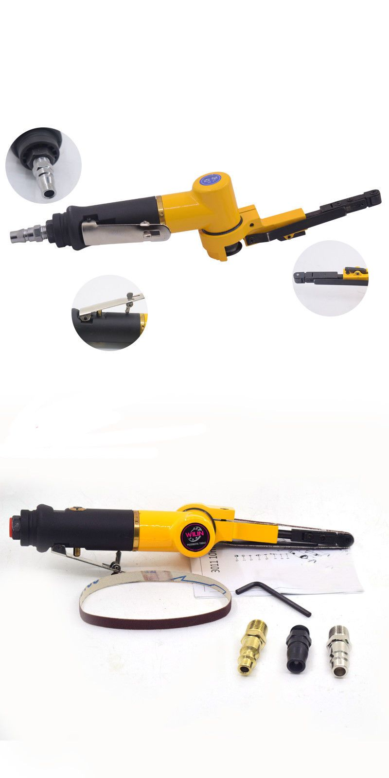 Sanders 42249 Pneumatic Tools Air Belt Sanders Polisher Machine 10mm Metal Polishing 3 8 Inch Buy It Now Only 39 On Ebay Metal Polish Belt Sander Metal