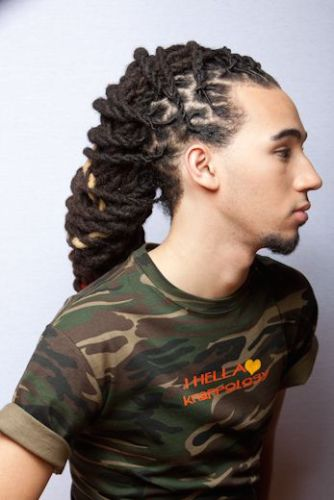 Hairstyles For Dreads mens undercut with dreadlocks 58 Black Men Dreadlocks Hairstyles Pictures