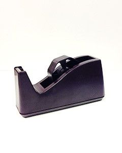 Decoration Supplies Tape Dispenser DISP 1 in brown tabletop