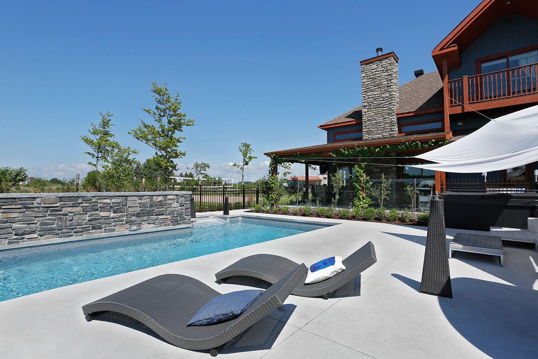 Piscine tr vi fuzion piscines creus es pinterest - Amenagement exterieur piscine creusee ...