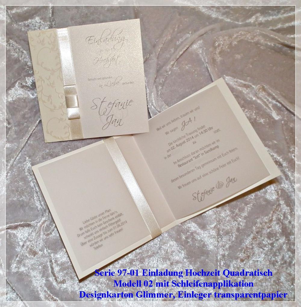 Einladungskarten Hochzeit Spitze Selber Machen Schon Einladungen Einladungskarten Hochzeit Online Bestellen